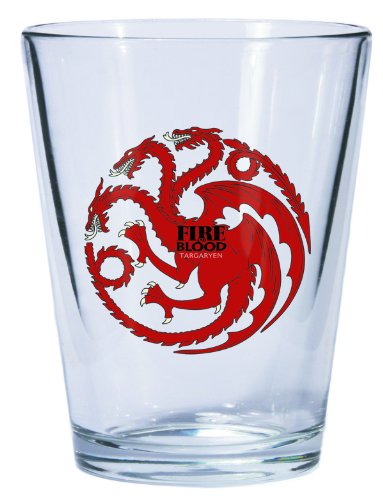 Dark Horse Deluxe Game of Thrones Shot Glass: Targaryen Sigil - 1