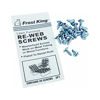 frost king lawn chair screws webbing kit industrial scientific. Black Bedroom Furniture Sets. Home Design Ideas