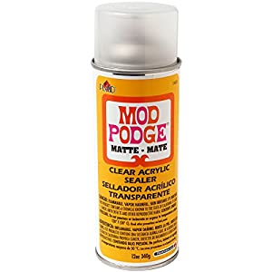 Plaid Mod Podge 1469 12-Ounce Clear Acrylic Sealer, Matte