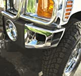 Hummer H3 Accessories - Front Bumper Corner Covers 2 PCS 2006, 2007, 2008, 2009