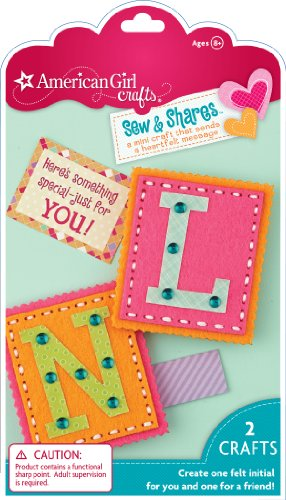 American Girl Crafts Sew and Shares, Initials - 1