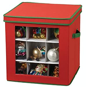 Christmas Ornament Storage Containers