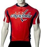 NHL Washington Capitals Cycling Jersey, Red, Medium