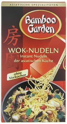 Bamboo Garden Wok-Nudeln 250g, 4er Pack (4 x 250 g) von Bamboo Garden auf Gewürze Shop