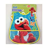 Sesame Baby Bib 2pack with Crumb Catcher