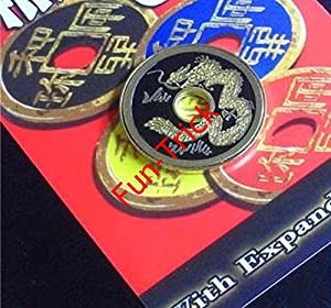 Expanded Shell Chinese Coin / Magic Tricks/Magic Props/Coin & Money Tricks