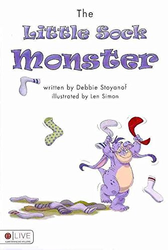 the-little-sock-monster-by-author-debbie-stoyanof-published-on-august-2010