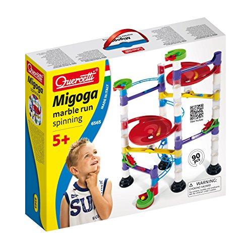 Quercetti 06565 - Gioco Migoga Marble Run Spinning