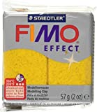 Fimo Soft Polymer Clay 2 Ounces-8020-112 Glitter Gold