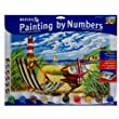 Senior Paint By Numbers Seashore
