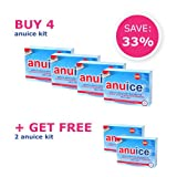 Anuice - FDA Approved Medical Device for Hemorrhoid Treatment - Buy 4, Get 2 Free
