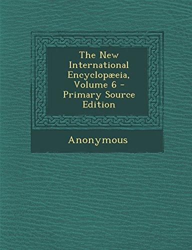 The New International Encyclopæeia, Volume 6
