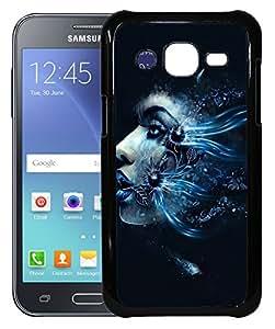 FCS Printed 2D Designer Hard Back Case For Samsung Galaxy J2 (2016) SM-J210FZDDINS With Universal Mobile Stand