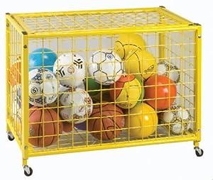Yellow Grid Locker - 42L x 24W x 27H by Olympia Sports