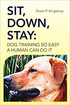 how to make a dog sit and stay