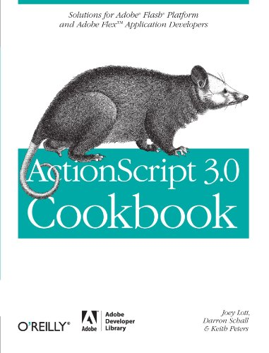 ActionScript 3.0 Cookbook: Solutions for Flash Platform and Flex Application Developers