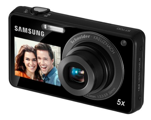 For Sale Samsung EC-ST700 Digital Camera with 16 MP, 5x Optical Zoom and Touchscreen (Black)