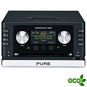 Review and Buying Guide of Cheap Pure Sirocco 550 Micro Hifi System (Console Only)