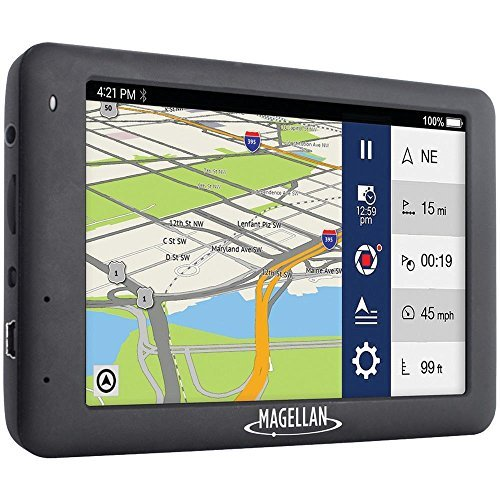 Magellan RoadMate 6630T-LM 5 Touch Car Vehicle GPS With FHD built-in Dash Cam, Black