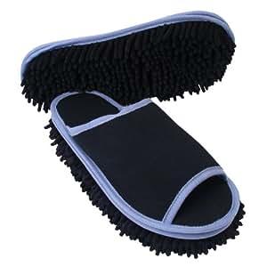 Evriholder Slipper Genie for Men, Black, One Size Fits 9 to 11