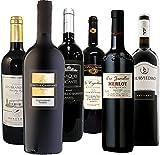 【濃い味フルボディ】果実味たっぷり濃厚赤ワイン飲み比べ6本セット 750ml×6本