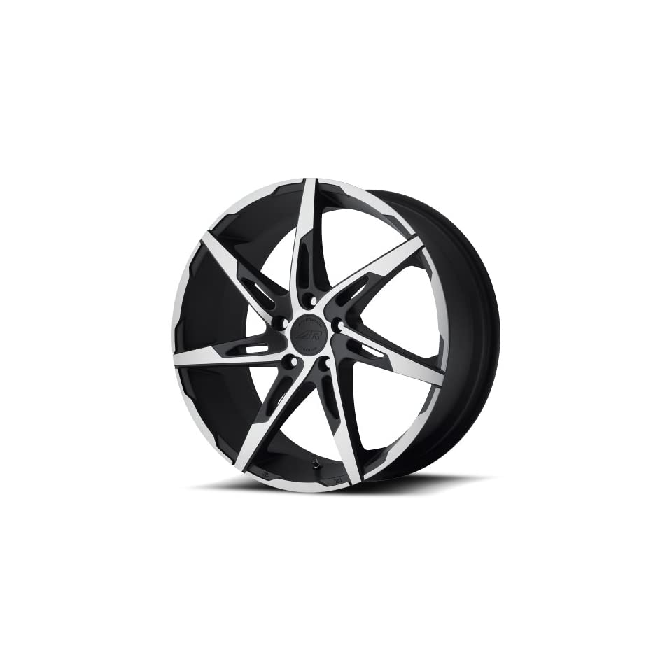 American Racing Custom Wheels AR900 Satin Black Wheel With Machined Accents (17x7.5/5x115mm, +45mm offset)