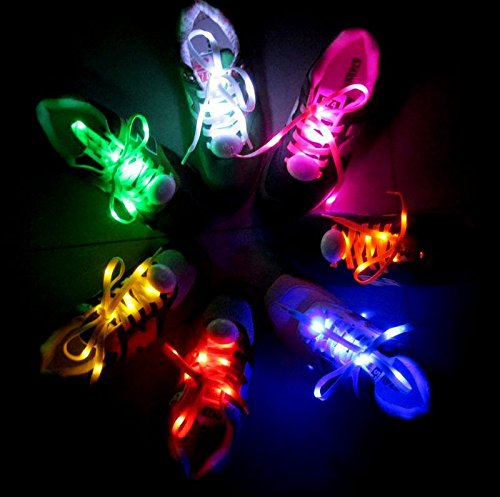 AcTopp-1-Pair-LED-Shoelaces-High-Visibility-Soft-Nylon-Light-Up-Shoelace-with-4-Modes-Rainbow-Colors-for-Night-Safety-Running-Biking-Or-Cool-Disco-Party-Cosplay-Hip-hop-Dance