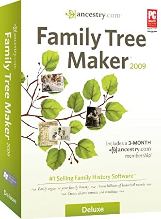Family Tree Maker 2009 Deluxe [OLD VERSION]