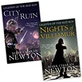 Mark Charan Newton Legends of the Red Sun 2 Books Collection Pack Set RRP: �18.82 (City of Ruin, Nights of Villjamur)by Mark Charan Newton