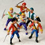 Amscan Favor Bulk Pirate Figure Party...