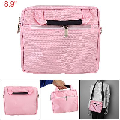 Gino 8.9,10,10.1 inch Pink Notebook Laptop Shoulder Bag plus Handle for Asus Eee Pad TF101