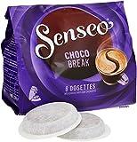 Senseo Chocolat Chocobreak 8 dosettes de 108 g - Lot de 5
