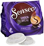 Senseo Chocolat Chocobreak 8 dosettes...
