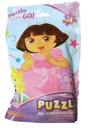 Puzzle on the GO! Dora the Explorer My Flower Friends!