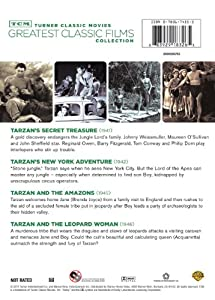 TCM Greatest Classic Films Collection: Tarzan, Vol. 2 (Tarzan's Secret Treasure / Tarzan and the Amazons / Tarzan's New York Adventure / Tarzan and the Leopard Woman) from Turner Classic Movie