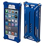 MassG® Transformers Arachnophobia Aluminium Case for iPhone 5 Full Protection Strong Durable Coverage Bump Drop Impact Resistant Allen Key On To Phone (Included) Bright Colourful And Sturdy - Blue