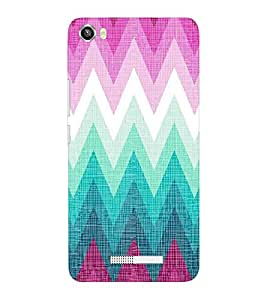 EPICCASE triangle case Mobile Back Case Cover For Lava Iris X8 (Designer Case)
