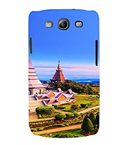 PrintVisa Travel Temple Design 3D Hard Polycarbonate Designer Back Case Cover for Samsung Galaxy S3 Neo