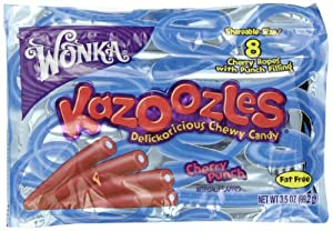 Wonka Kazoozles Cherry Punch King, 3.5-Ounce (Pack of 12)