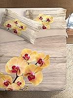 Ipersan Juego De Funda Nórdica Orchid (Amarillo/Gris)