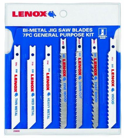 Lenox U743JA Lenox 7-Piece Jig And Saber Saw Blade Assortment (Saber Saw Blades compare prices)