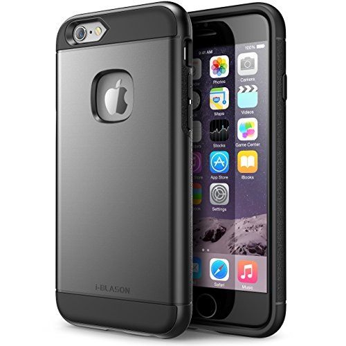 iPhone 6 Plus Case , [Heavy Duty] i-Blason Unity **Dual Layer** Apple iPhone 6 Plus 5.5 Inch cover [Ultra Slim] Armored Hybrid TPU Cover + Hard Outter Shell (iPhone 6 Plus, Black) image