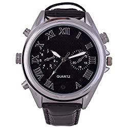 M MHB Wrist Watch Camera Hidden audio /video Recording.Original Brand Only Sold by M MHB .While recording no light Flashes. recording Leathe Wrist Watch Camera Inbuild 4GB memory.