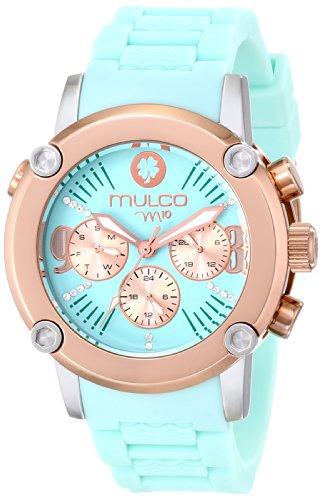 MULCO Femme MW2-28049-099 Analog Display Swiss Quartz Blue Montre