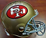 Steve Young Autographed San Francisco 49ers Full Size Authentic Helmet Red / White PSA/DNA