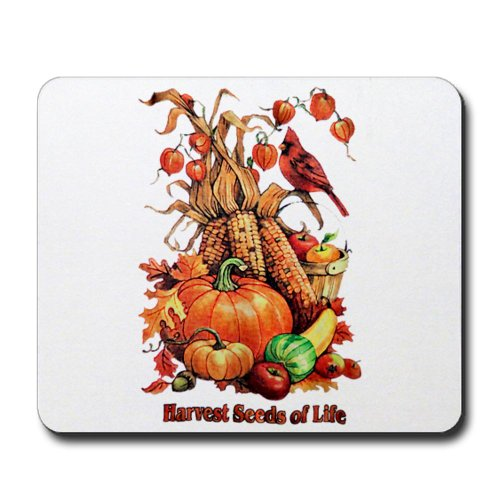 Mousepad (Mouse Pad) Thanksgiving Harvest Seeds