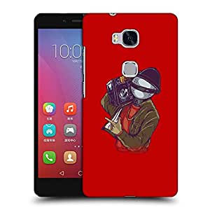 Snoogg Music Man Designer Protective Back Case Cover For HUAWEI HONOR 5X