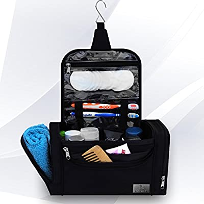 """Best Cheap Deal for Hanging Toiletry Bag """"aGreatLife"""" is perfectly sized, classically styled yet modern travel accessories bag suitable for men and/or women! Comes no-risk extended warranty +FREE ebook. by aGreatLife - Free 2 Day Shipping Available"""