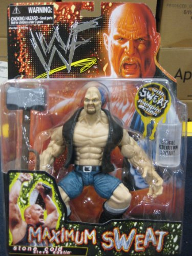 WWF Maximum Sweat Stone Cold Steve Austin by Jakks Pacific Inc 1999 - 1