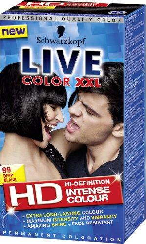 Schwarzkopf LIVE Color XXL 99 Deep Black images